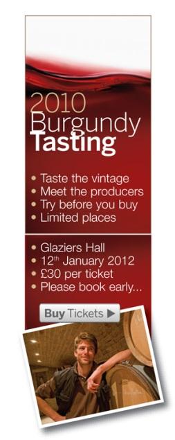 Burgundy 2010, Wine Tasting, Burgundy En Primeur