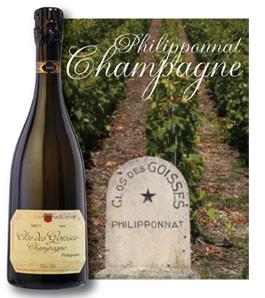 Clos des Goisses 2002, Champagne Philliponnat