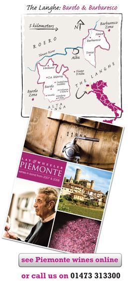 Piemonte 2007, Piemonte 2008, Barolo, Barbaresco