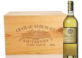 Château Suduiraut, Bordeaux 2011