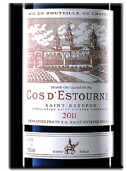 Bordeaux 2011 Cos d'Estournel 2011