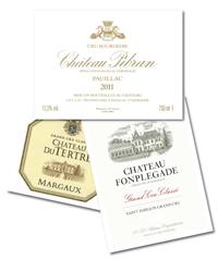 Bordeaux 2011: Chateau du Tertre, Chateau Pibran, Chateau Fonplégade