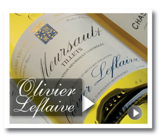 White Burgundy from Olivier Leflaive by Lay & Wheeler