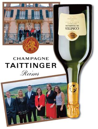 Lay Wheeler, 2002 Comtes de Champagne Blanc de Blancs Brut, Taittinger